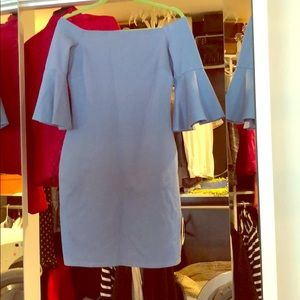 Dress - periwinkle blue